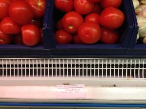 помидоры - 465 руб